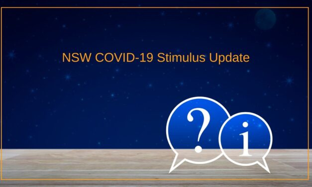 NSW COVID-19 Stimulus Update September 2021